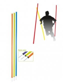 Piquet de slalom - pointe acier