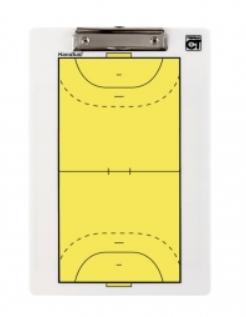 Plaquette recto/verso handball