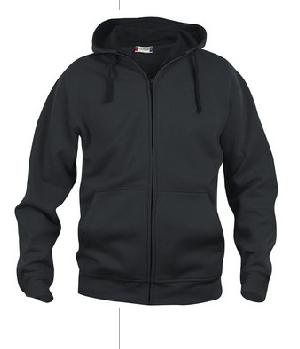 basic hoody full zip clique