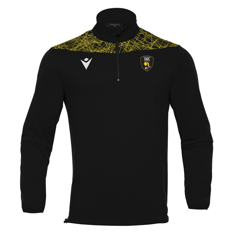 Sweat 1/4 zip SOC Rugby MACRON